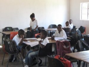Learners at Sam Nzime