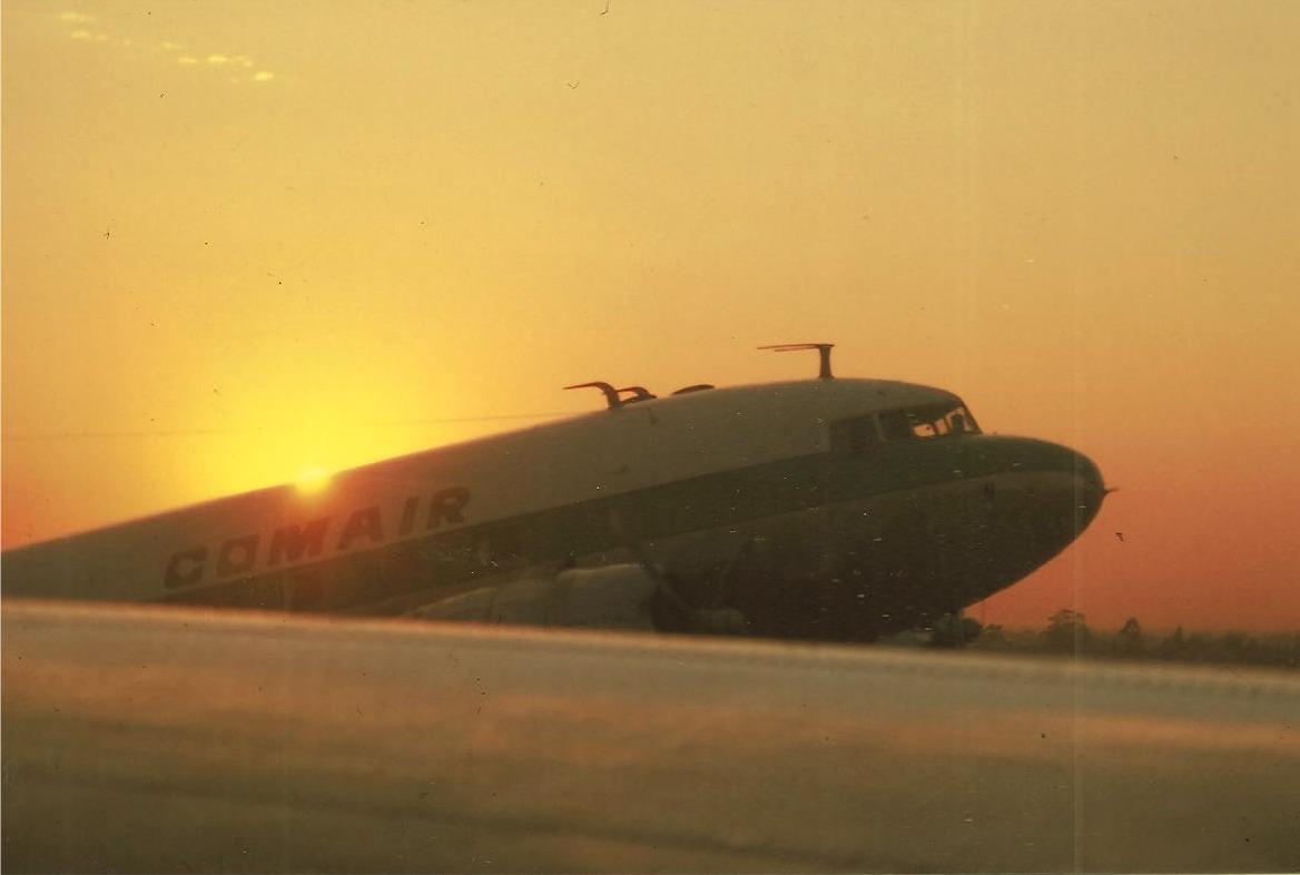 Comair Dakota Airplane Peter Pyburn to Skukuza