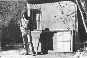 Former Game Ranger Peter Pyburn's room at Londolozi Game Reserve circa 1980