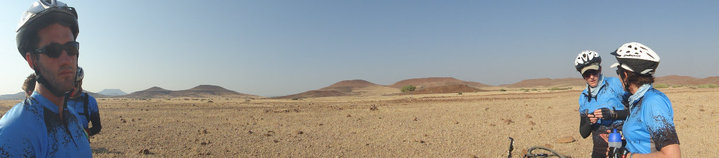 Team Londolozi Damaraland Desert Challenge4aCause