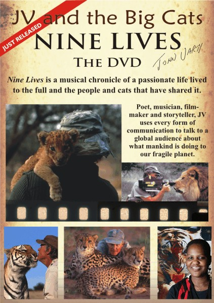 Nine Lives John Varty DVD Poster