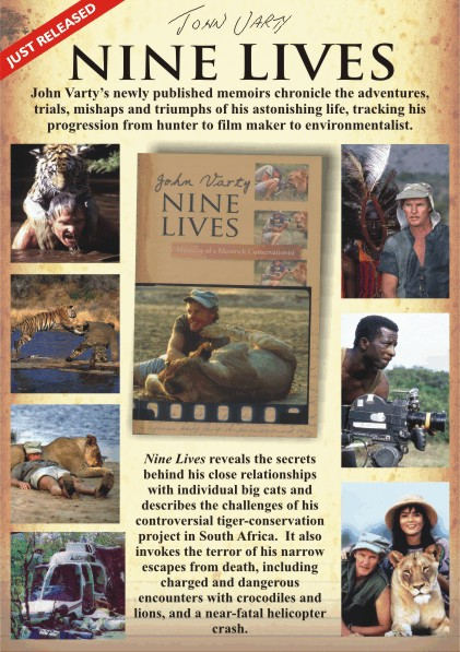 Nine Lives John Varty Book Poster