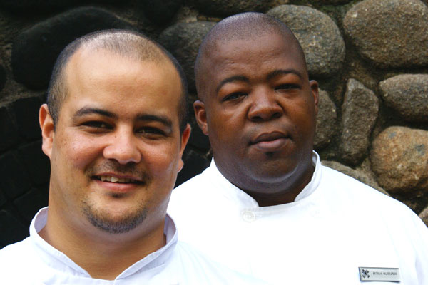 Londolozi Chef's Craig and Petrus
