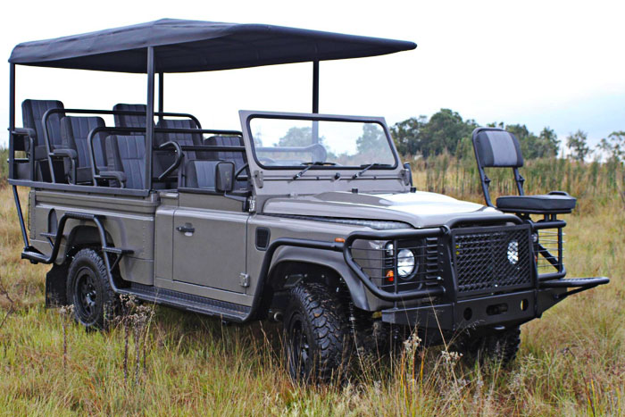 Land Rover's Electric Game Viewer