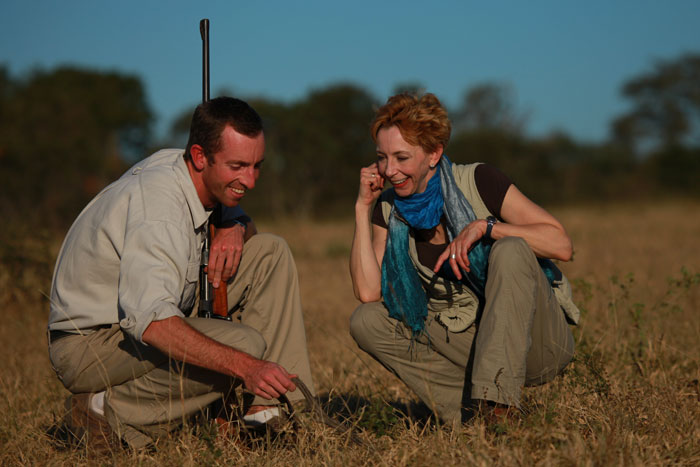Adam Bannister and Martha Beck on the African STAR Retreat - Rich Laburn