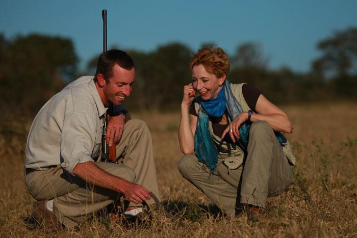 Adam Bannister and Martha Beck on the African STAR Retreat - Rich Laburn