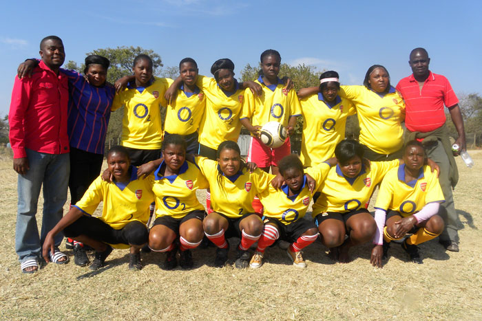 Tlhabekisa Happy Girls Football Team - Witness Mnisi