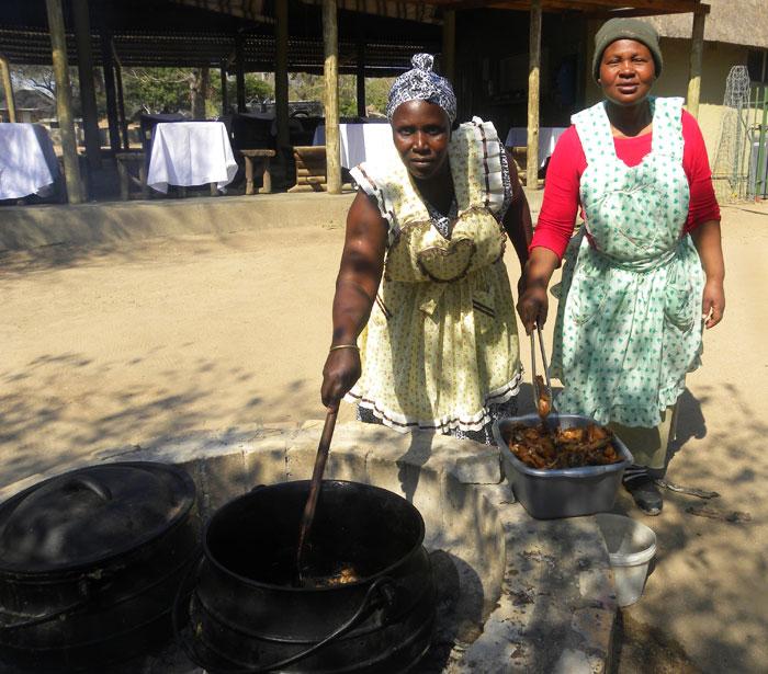 Preparing the Roast Chicken - Witness Mnisi