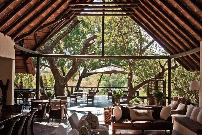 Londolozi Tree Camp Deck by Francesca Grima