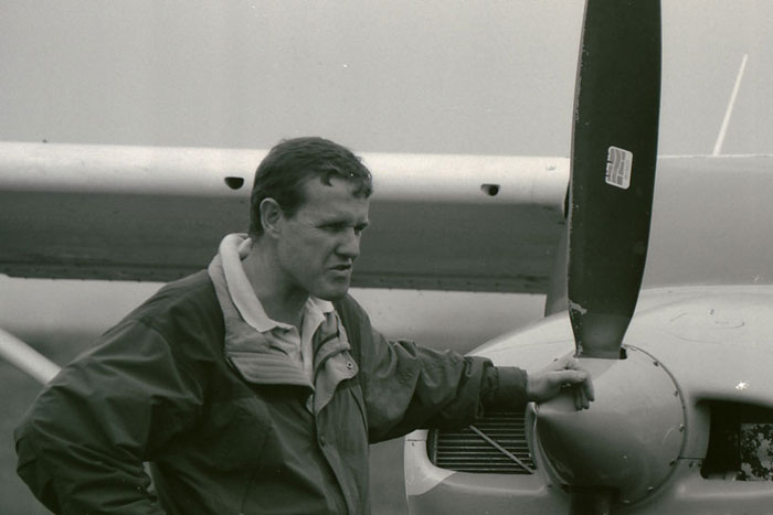Dave Varty in the early 1990's