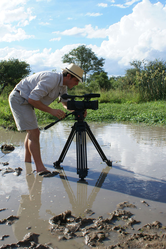 Rich Filming in Mud