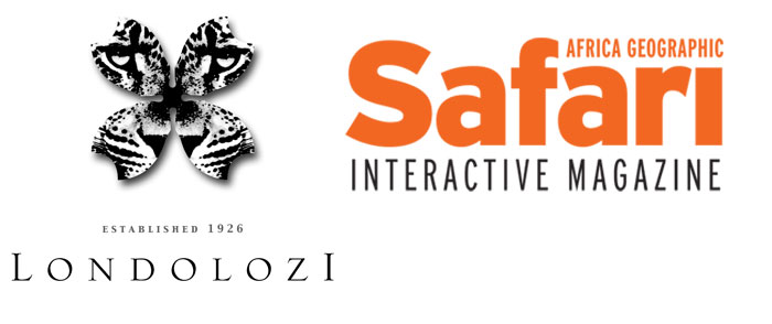 Londolozi and Safari Interactive Magazine Logo