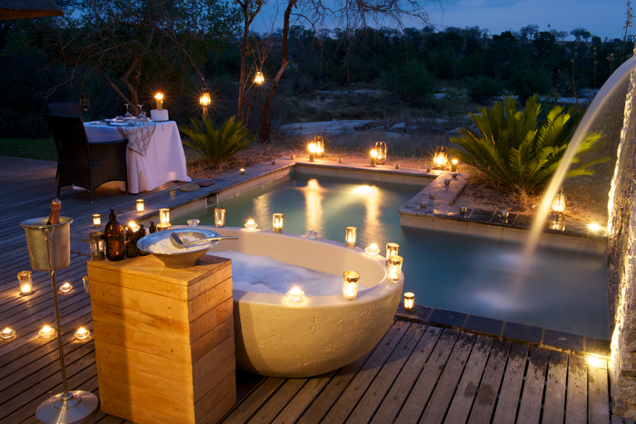 Private Outdoor Bath Experience at Private Granite Suites - Ryan Graham