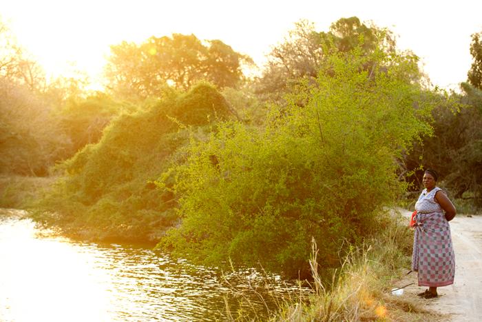 Women Fishing at Camp Dam - Ryan Graham