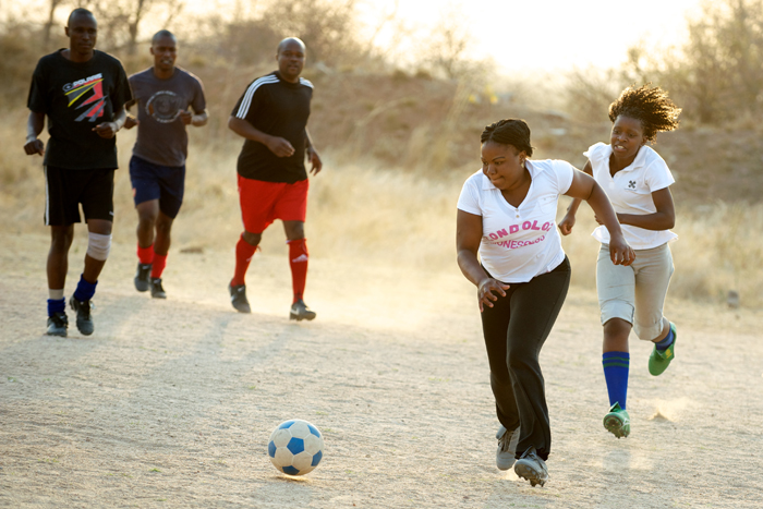 Londolozi Lionesses Practice Soccer - Ryan Graham
