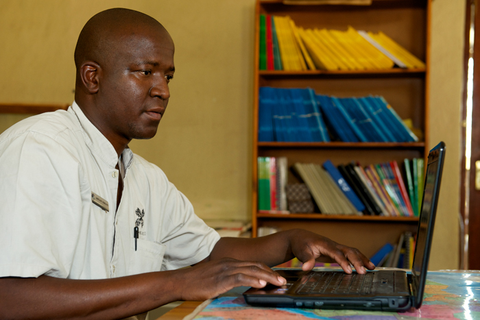 At the Londolozi Learning Centre - Ryan Graham
