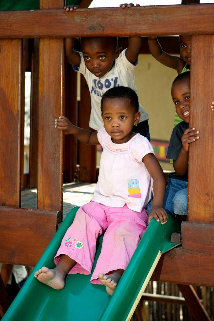 Children Playing at the Londolozi Creche - Ryan Graham