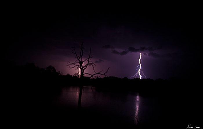 Rich Laburn Lightning at Camp Pan Londolozi