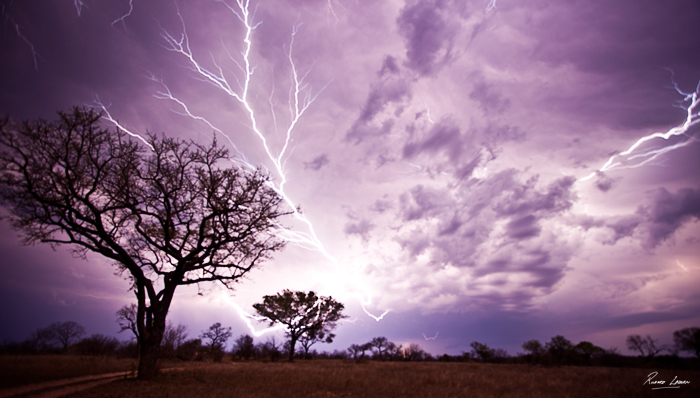 Rich Laburn Sheet Lightning across the Lowveld