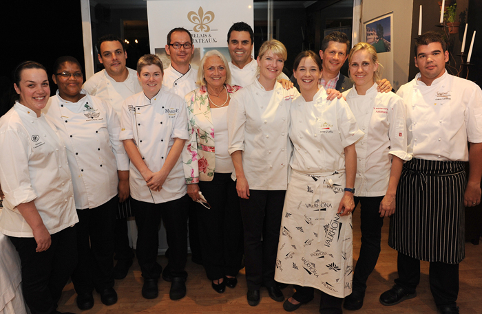 Relais Chefs at the Launch of the Cookbook
