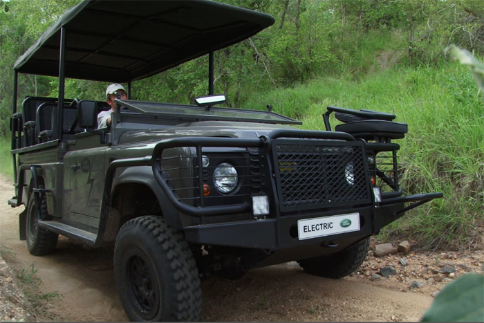 Putting the Electric Land Rover to the test - Rich Laburn