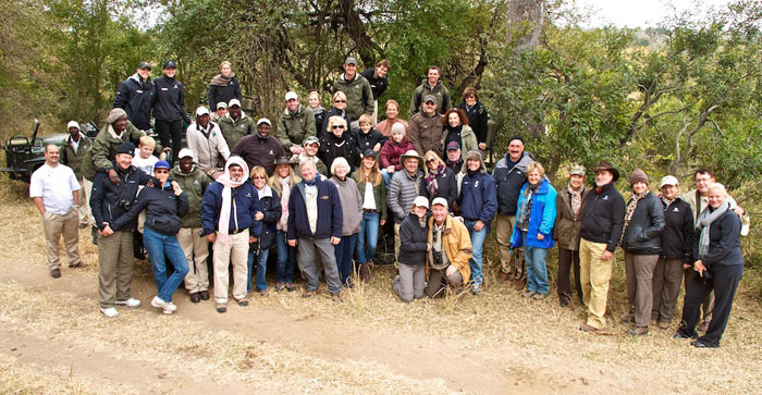 The Connoisseur Club on Safari at Londolozi