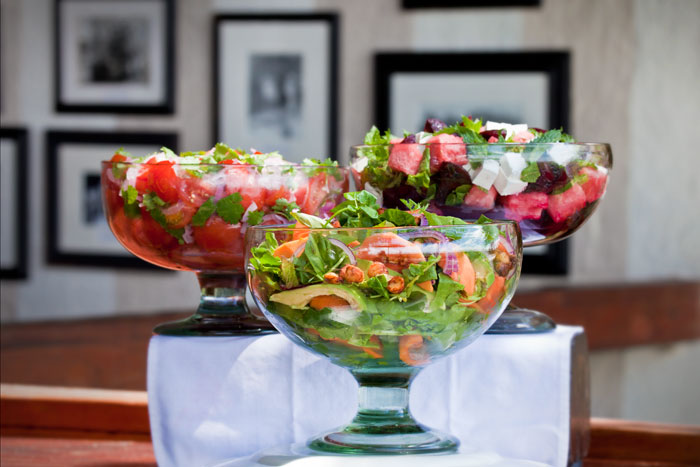 'Sexy Salads' ready for lunch - Rich Laburn