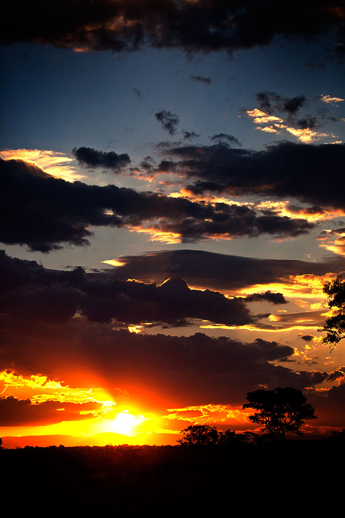 Cloudy Sunset - Rich Laburn