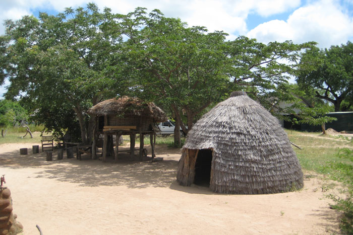 The traditional Shangaan village, as seen on the village walk - Sonja Waldl