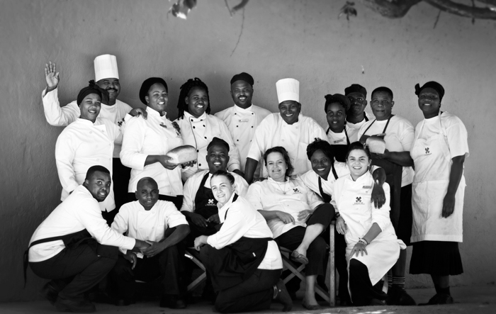 The Londolozi Kitchen Team