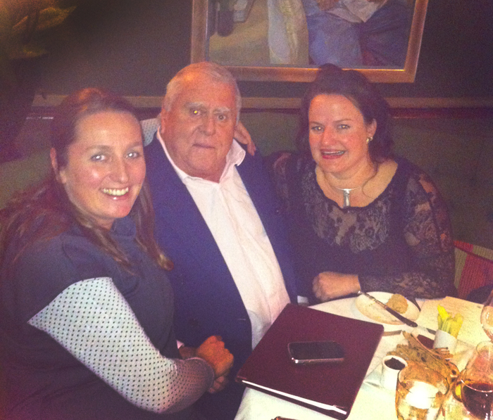 At lunch with Albert Roux