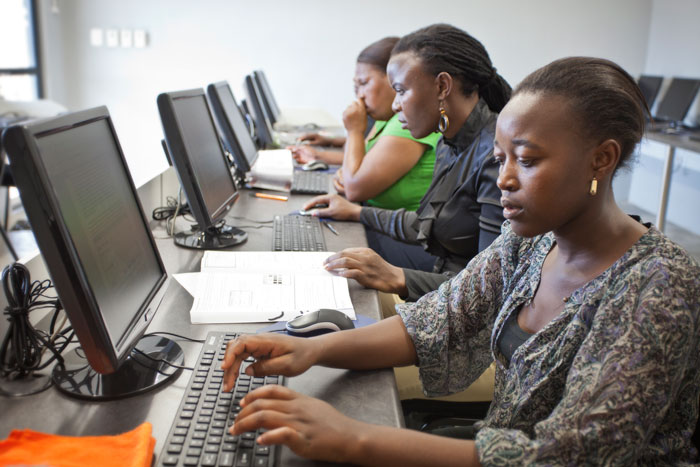 Both adults and children have access to the machines once registered and given their time slot.  From educational programs to something as simple yet powerful as Google search, it is hope that this type of access will provide the leapfrog learning necessary to catapult rural South African citizens into the 21st century