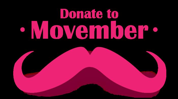 Donate to Movember 2012
