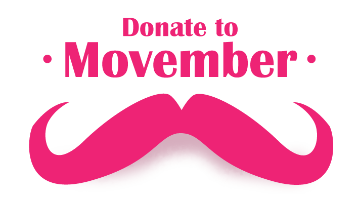 Donate to Movember 2012
