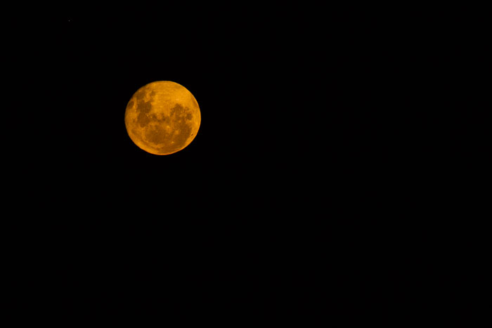The full moon rises over Sparta...