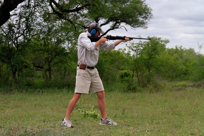 Rifle training