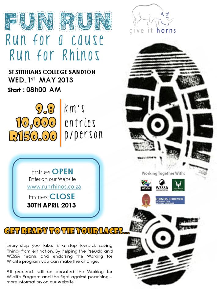 Fun Run for Rhinos