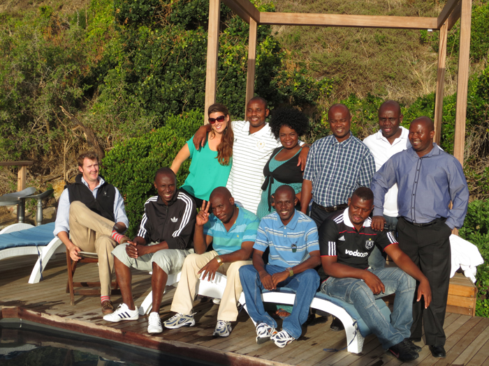 Group at Tintswalo