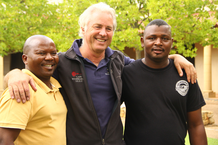 Kevin Arnold and the Londolozi staff