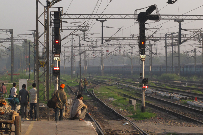 New Dehli Train Station Rich Laburn