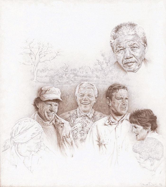 Nelson Mandela at Londolozi