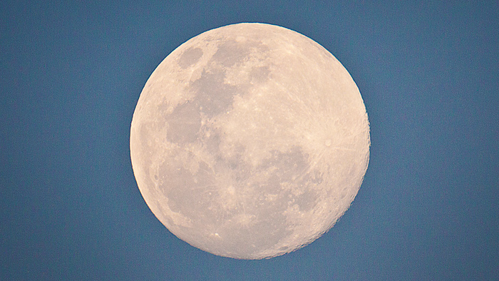 The full moon - Photographed by Rich Laburn