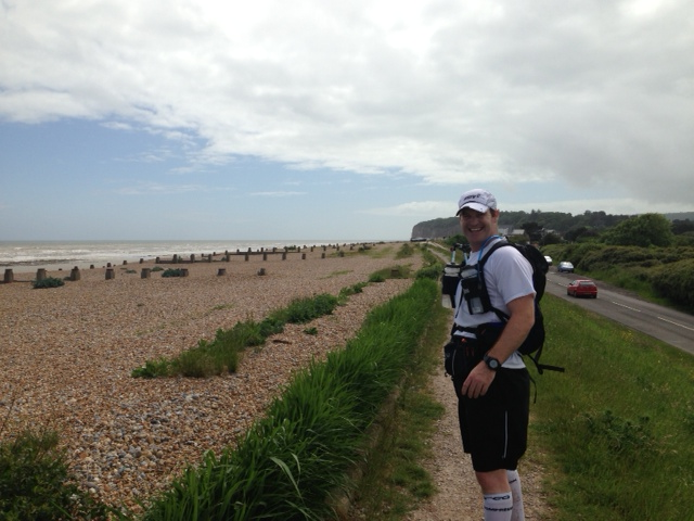 Rye to Hastings on the English south coast