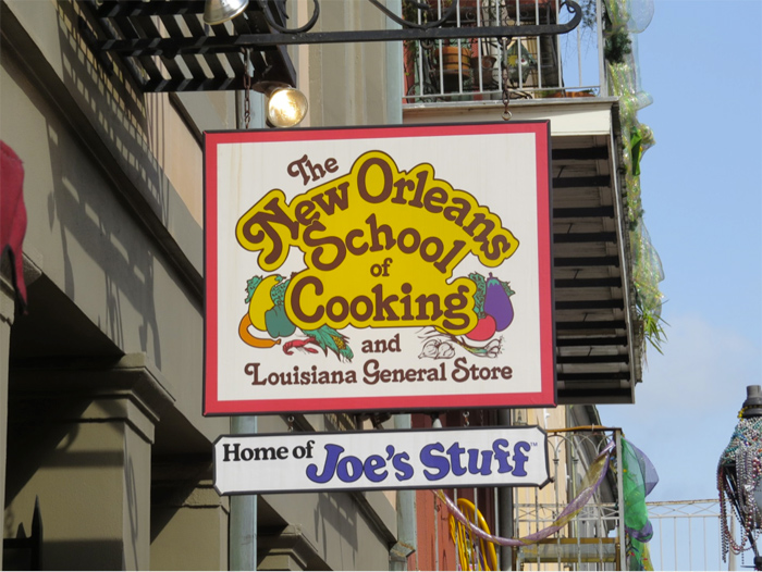 Best place to learn traditional New Orleans cooking!