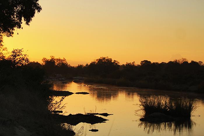 An African sunset. Hard to beat. Trevor