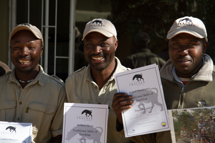 The two Richards and Londolozi's, Robert Hlatswayo