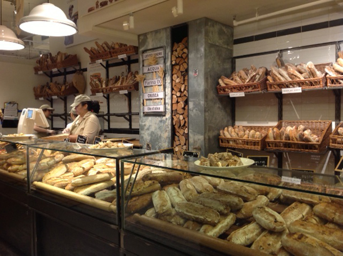 Wonderful breads in Little Italy