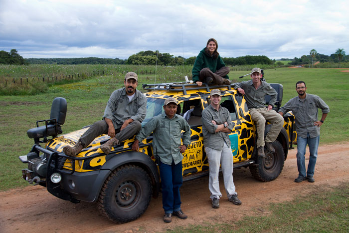 The Jaguar Habituation team