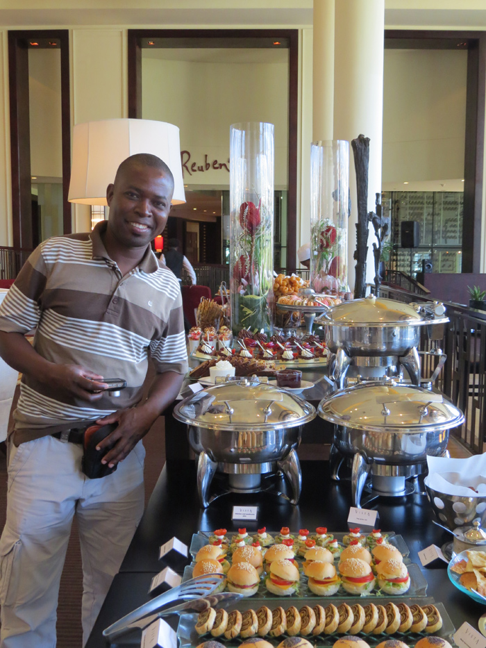 One of the greatest lessons for Eric to bring back to the Londolozi kitchen was after a high tea at the One & Only hotel. From Savoury to sweet he saw how to bake, present and garnish, all the necessary elements to satisfy all Londolozi guests sweet stomachs.