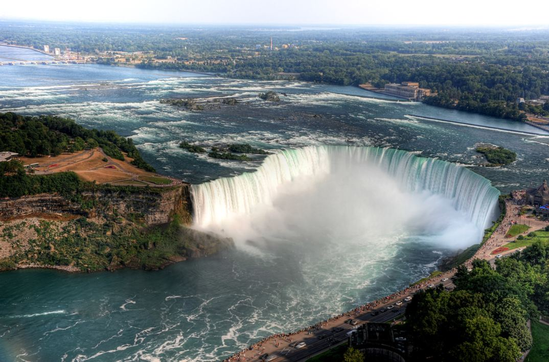 Here's a fact that is not commonly known: we use water to make electricity. Take the average amount of water flowing over Niagara Falls in a minute and triple it. That is how much water power plants in the USA take in for cooling each minutes to make electricity.